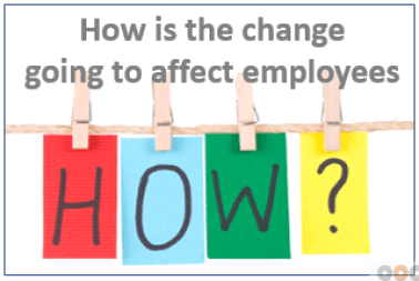 12 Significant Things to Communicate Before Change_How is the change going to affect employees?