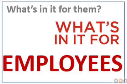 12 Significant Things to Communicate Before Change_What is in the change for employees?
