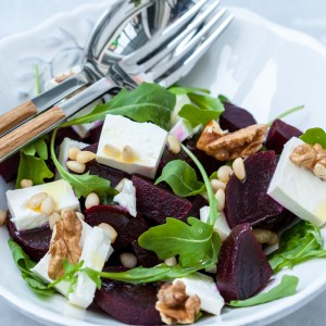Home Delivered beet salad