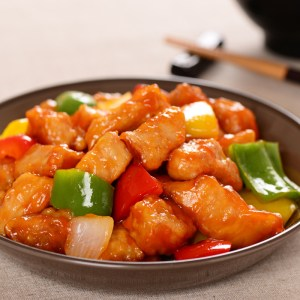 home delivered meals sweet and sour pork