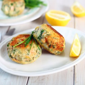 home delivered meals salmon fishcakes