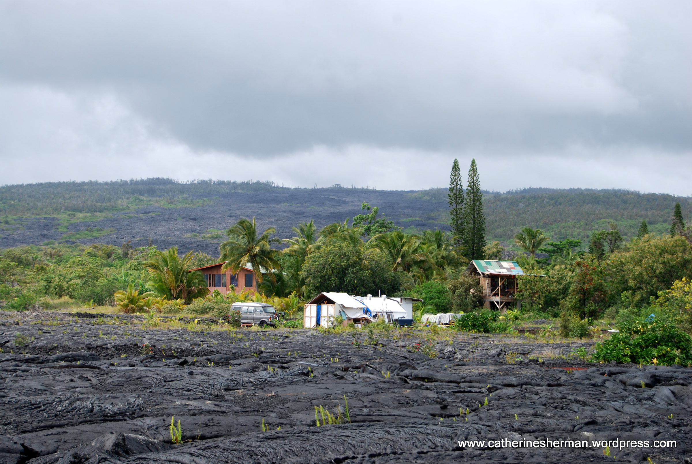 Living At The Edge Of An Active Volcano