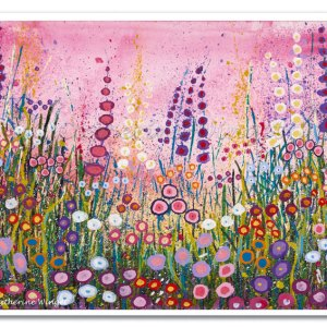 Floral Flower Print – Cottage Garden Flowers
