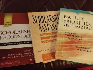 scholarship reconsidered books