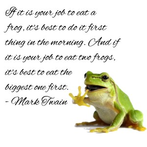 To the child who is always happy to feast on a frog, thanks for creating this picture for me xxxx