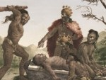 Priests in early Pacific cultures gained by human sacrifice