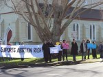 Town divided over abortion