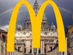 McDonalds next to Vatican