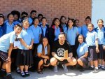 Joseph Parker keen to collect 22 pies from school principal