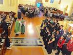 Year 13 Leaders blessed at Auckland Diocese Youth Mass