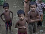 Rohingya five-year-old hadn't eaten anything for eight days…nothing