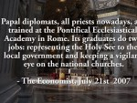 New papal diplomat department established