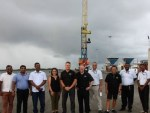 Fijians lift their crane in Napier