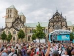 German president, celebrities: churches should share communion