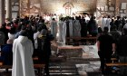 Bishops pledge before martyrs graves to serve the poor