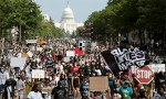 Families of police shooting victims join march on Washington