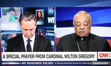 Cardinal Gregory on CNN