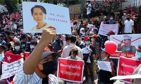 myanmar step back