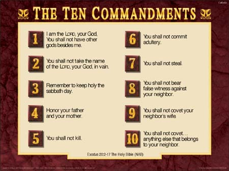 the ten commandments is meaningless for You shall have no other gods before methe  and does not want to share our love by us bowing down to meaningless  the last of the ten commandments is.