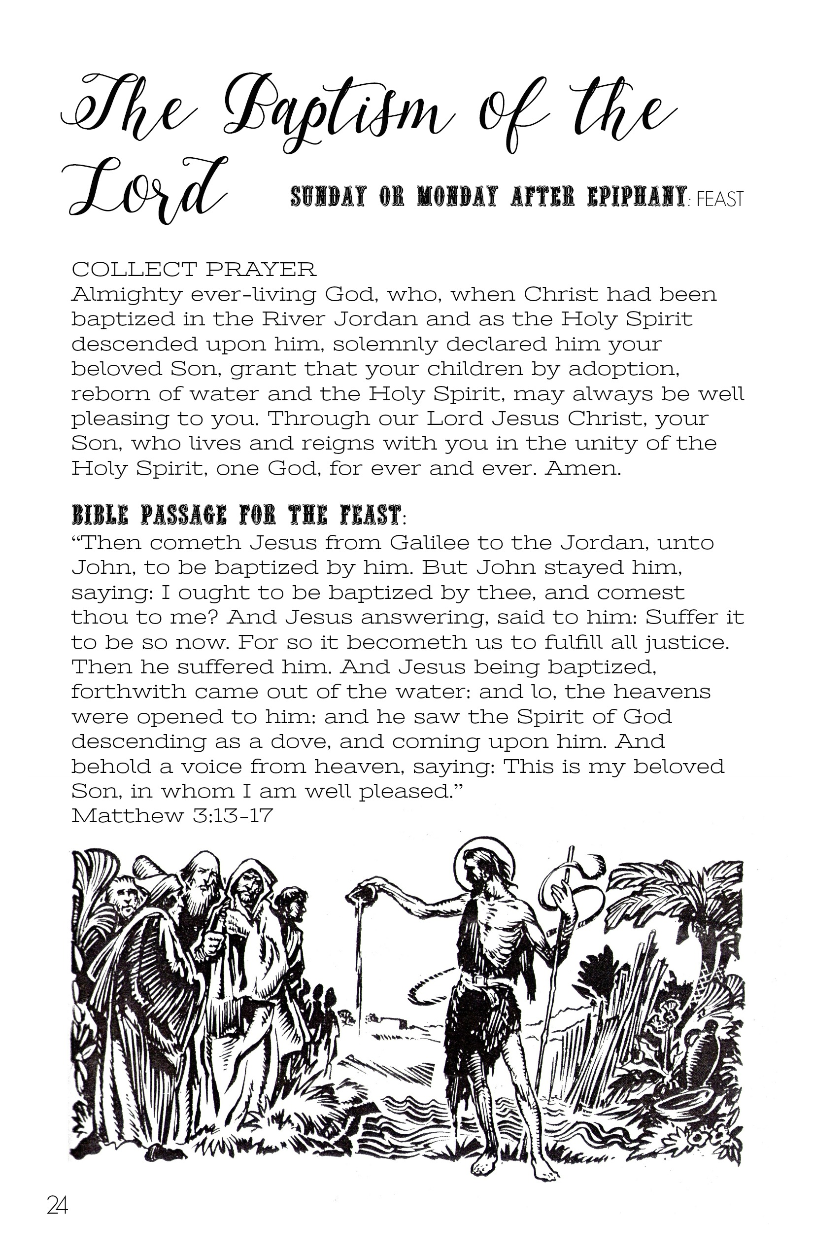Catholic All January Printable Booklet Of Prayers
