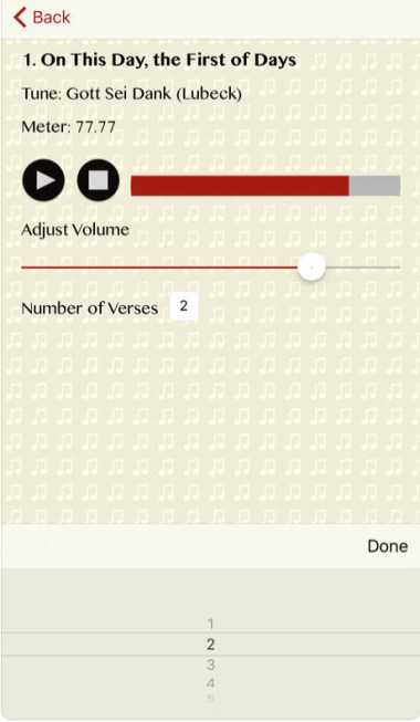 breviary tunes screenshot