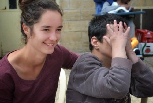 Volunteering in a village near Jerusalem