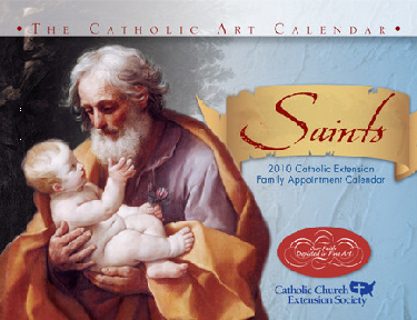 Purchase your 2010 Catholic Extension calendars!