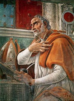 St. Augustine of Hippo Public Domain Image