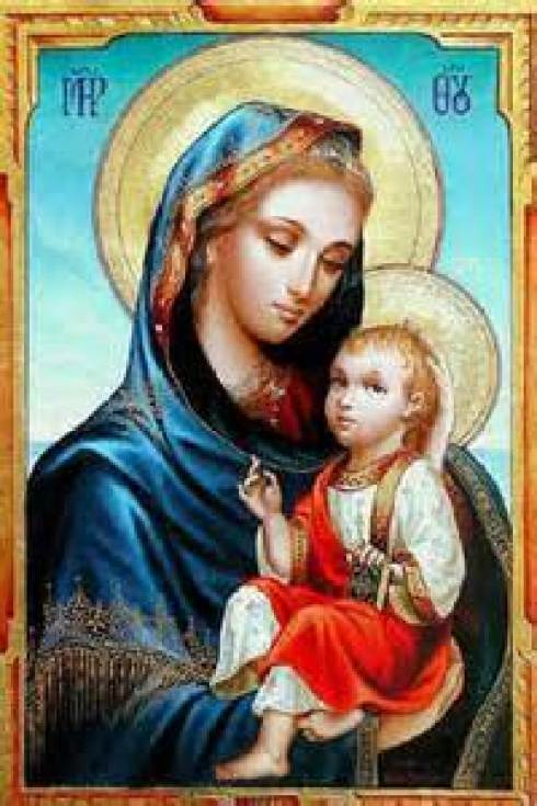Mary, Mother of God Public Domain Image