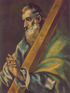 St. Andrew the Apostle Public Domain Image