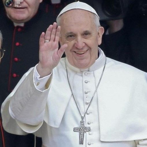 Pope Francis Facebook Image
