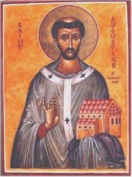 St. Augustine of Canterbury Public Domain Image