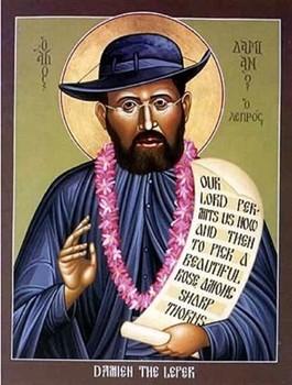St. Damien Public Domain Image