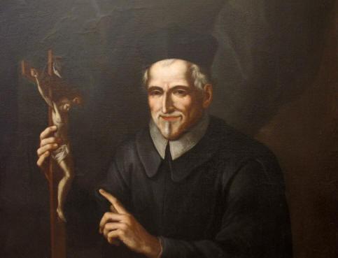 St. Philip Neri with Cross