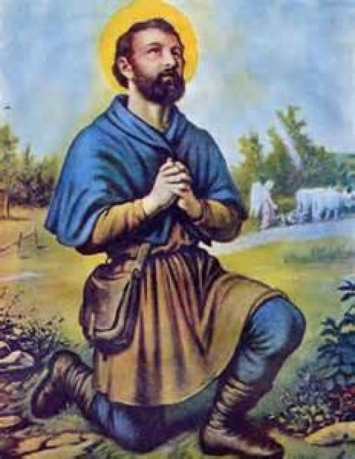 St. Isidore the Farmer Public Domain Image