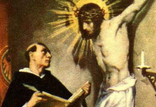 St Thmas Aquinas-cr-01 Public Domain Image