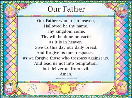 The Lord's Prayer Public Domain Image