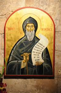 St. Benedict Public Domain Image