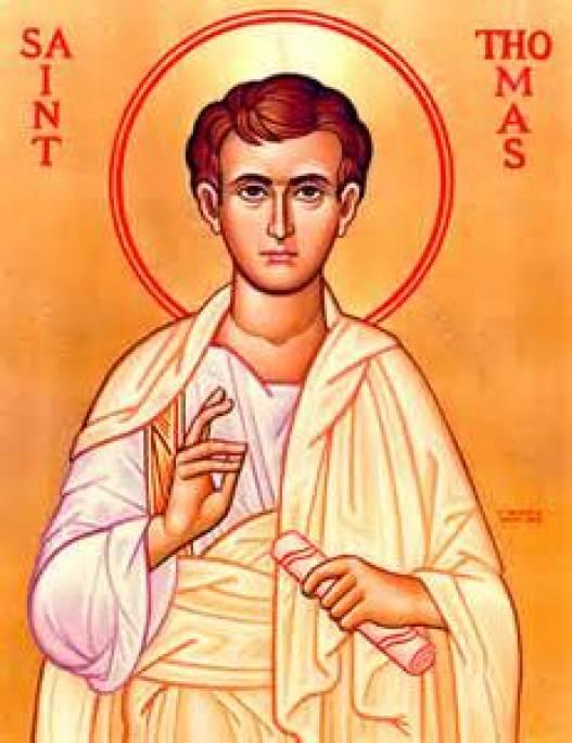 St. Thomas the Apostle Public Domain Image
