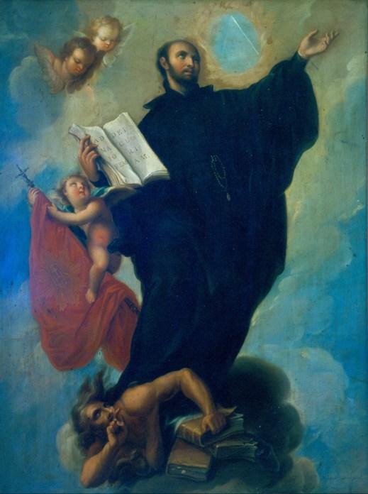 St. Ignatius Loyola by Miguel Cabrera Public Domain Image