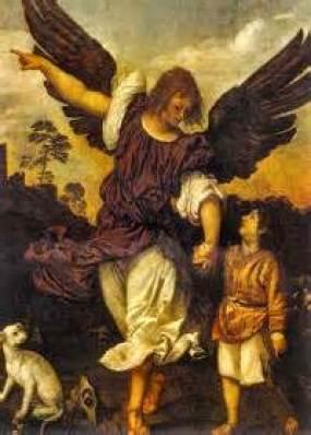 St. Raphael the Archangel Public Domain Image