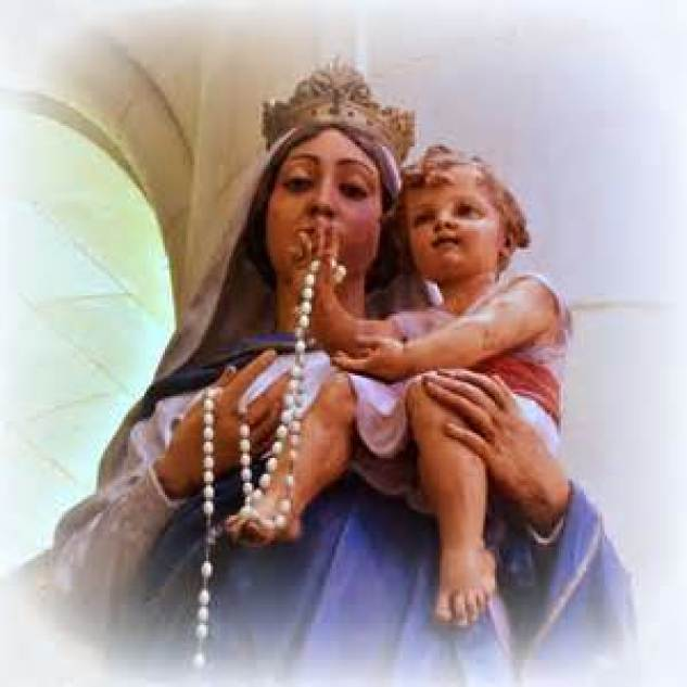 Our Lady of the Most Holy Rosary Staute
