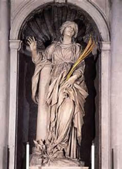 St. Bibiana Public domain Image