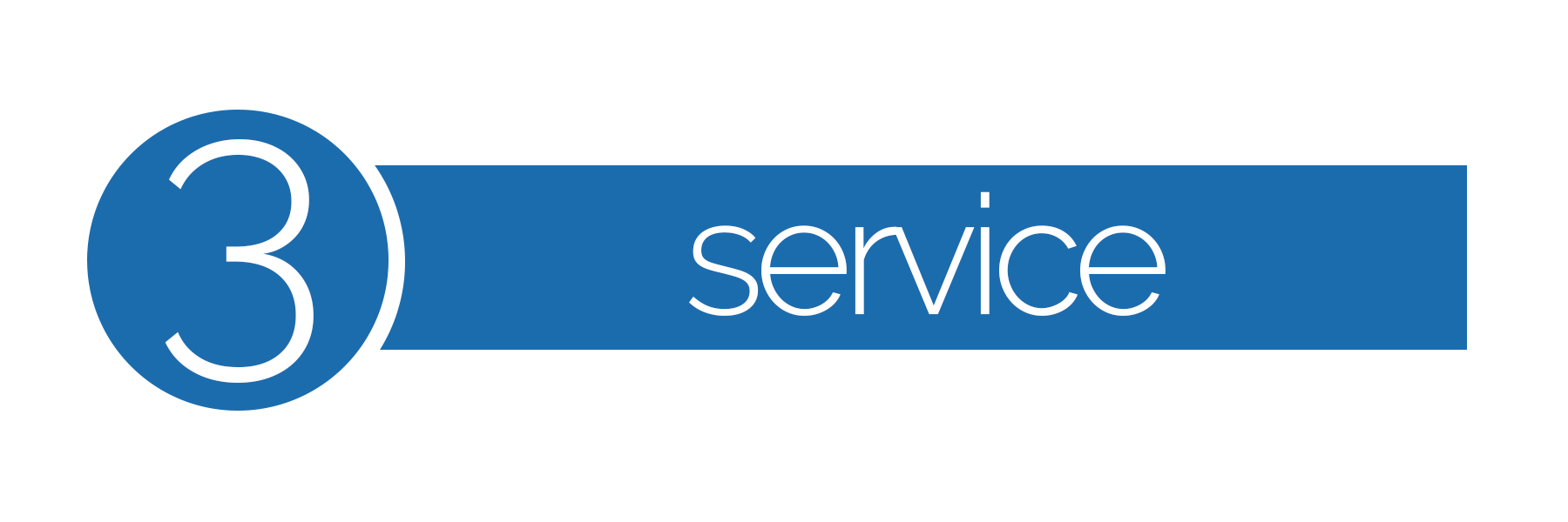 Core values #3 service