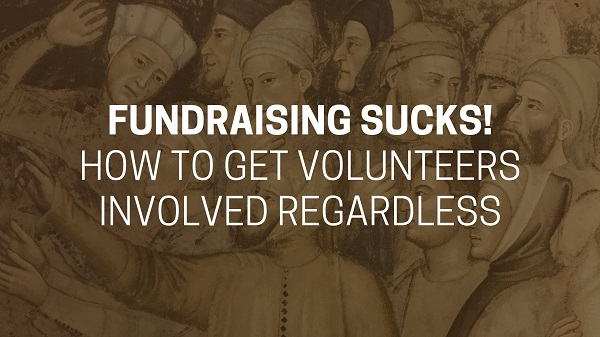 Volunteers fundraising
