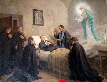 Risultati immagini per saint gabriel of lady of sorrow