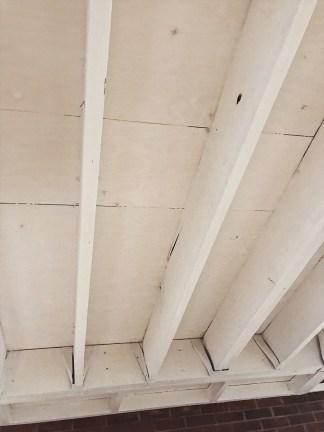 open basement ceiling