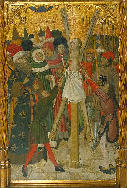 The Martyrdom of Saint Eulalia , by Bernat Martorell (credits)