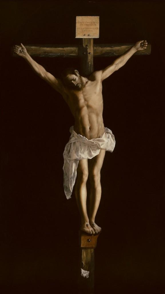 Christ on the Cross, by Francisco de Zurbarán (details/credits)