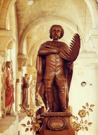 Saint Ralph, or Ranulphe (source)
